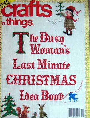 Crafts 'n Things Magazine - December - January 1989
