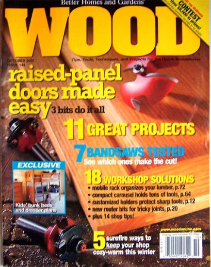 Wood Magazine - October 2002 Issue 144