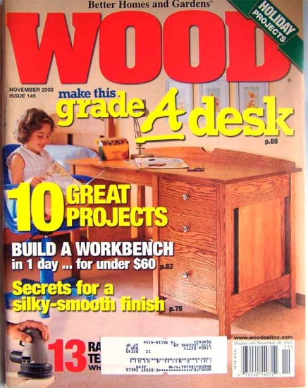 Wood Magazine - November 2002 Issue 145