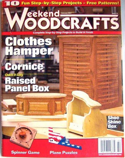 Weekend Woodcrafts Magazine - February 2004 Issue 61