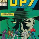 D.P.7 Comic Book - Annual No. 1 - January 1987