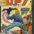 D.P.7 Comic Book - Volume 1 No. 5 - March 1987