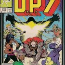 D.P.7 Comic Book - Volume 1 No. 4 - February 1987