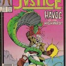 Justice Comic Book - Volume 1 No. 3 - January 1987