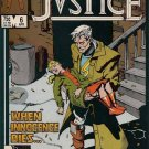 Justice Comic Book - Volume 1 No. 6 - April 1987