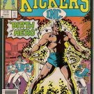 Kickers Inc. Comic Book - Volume 1 No. 1 - November 1986