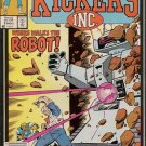 Kickers Inc. Comic Book - Volume 1 No. 2 - December 1986