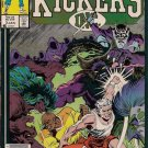 Kickers Inc. Comic Book - Volume 1 No. 3 - January 1987