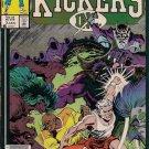 Kickers Inc. Comic Book - Volume 1 No. 3 - January 1987