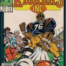 Kickers Inc. Comic Book - Volume 1 No. 4 - February 1987