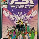 PSI Force Comic Book - Volume 1 No. 1 - November 1986