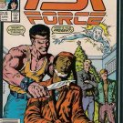 PSI Force Comic Book - Volume 1 No. 6 - April 1987