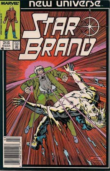 Star Brand Comic Book - Volume 1 No. 6 - March 1987
