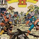 Secret Wars II Comic Book - Volume 1 No. 1 - July 1985