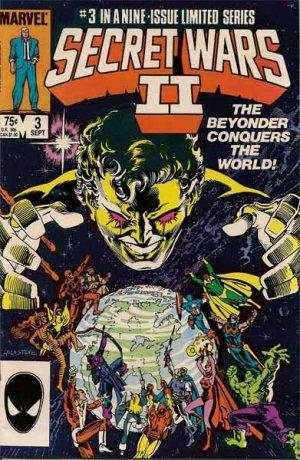 Secret Wars II Comic Book - Volume 1 No. 3 - September 1985