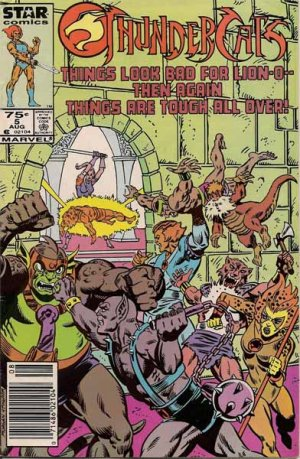 Thundercats Comic Book on Thundercats Comic Book   Volume 1 No  5   August 1986