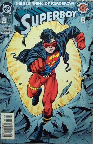 Superboy Comic Book - No. 0 October 1994
