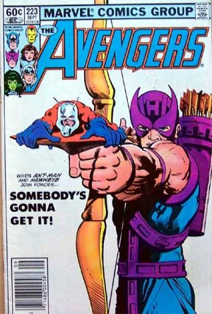 The Avengers Comic Book - No. 223 September 1982