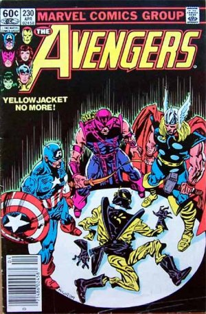 The Avengers Comic Book - No. 230 April 1983
