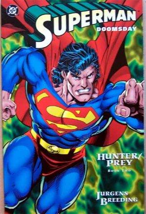 Superman Doomsday Comic - Hunter / Prey - Book Two - Cardstock Cover 1994