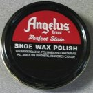 Angelus Shoe Boot Polish Shine Leather Paste Protector Waterproof 3 oz. Can Black Color