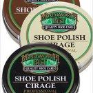 Moneysworth & Best Shoe Boot Polish Shine Leather Paste Protector 2.5 oz. Black Color M&B
