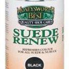 Moneysworth & Best Suede Renew Spray Aerosol Can Black Color