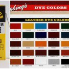 Fiebings Leather Dye 4 oz. with Applicator Shoes Boots Bag Light Blue Color