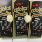 Kelly's Suede Cobler Dye with Applicator Nubuck Leather Shoes Boots Bag 4 oz. Medium Brown Color