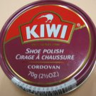Kiwi Shoe Polish Leather Boot Shine Paste Protector Large Can 2.5 oz. Cordovan Color