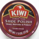 Kiwi Shoe Boot Polish Shine Leather Paste Protector 1 1/8 oz. Can Oxblood Color