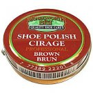 Moneysworth & Best Shoe Boot Polish Shine Leather Paste Protector 2.5 oz. Brown Color M&B