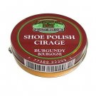 Moneysworth & Best Shoe Boot Polish Shine Leather Paste Protector 2.5 oz. Burgundy Color M&B
