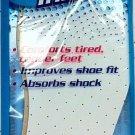 Premier Comfort Plus Cushion Insoles Shoe Sneaker Quality Inserts Women's 5-6 Size