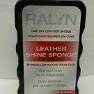 Ralyn Leather Shine Shoe Boot Sponge Cleans & Conditions for ALL COLORS