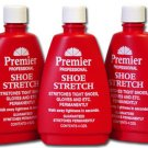 Premier Shoe Stretch Boot Gloves Liquid Stretcher 4 Oz - 3 Bottles