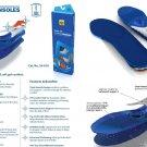 Spenco Gel Comfort Insoles Inserts Anti-Slip Support 39-818 Women's 5-6 Size