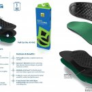 Spenco Rx Orthotic Arch Full Arch Cushion Insoles Inserts 43-042 Men's 10-11 Size