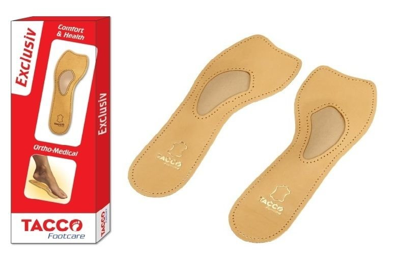 eae5fc17bb TACCO 621 Exclusiv Orthotic Arch Support Leather Shoe Insoles Inserts  Exclusive Women's 10