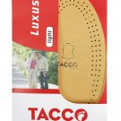 TACCO 615 Luxus Light Orthotic Shoe Support Cushions Leather Insoles Inserts Medium Size