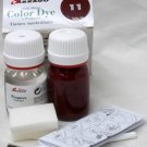 Tarrago Leather Color Dye Kit with Preparer Canvas Imitiation Bordeaux Color