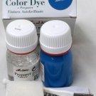 Tarrago Leather Color Dye Kit with Preparer Canvas Imitiation Electric Blue Color
