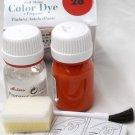 Tarrago Leather Color Dye Kit with Preparer Canvas Imitiation Orange Color