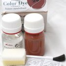 Tarrago Leather Color Dye Kit with Preparer Canvas Imitiation Light Brown Color