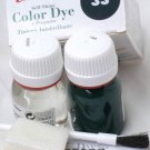 Tarrago Leather Color Dye Kit with Preparer Canvas Imitiation Dark Green Color