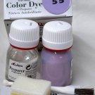 Tarrago Leather Color Dye Kit with Preparer Canvas Imitiation Lilac Color