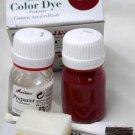 Tarrago Leather Color Dye Kit with Preparer Canvas Imitiation Morello Cherry Color