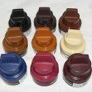 Tarrago Shoe Shine Cream Self Liquid Polish Kit Leather 1 50ml Can Jar Black Color