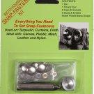 "Snap Fastener Set Kit - Osborne K229-20 DIY - 1/2"" Snaps, Die, Flaring Tool"