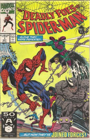 DEADLY FOES OF SPIDERMAN PART ONE OF FOUR MARVEL